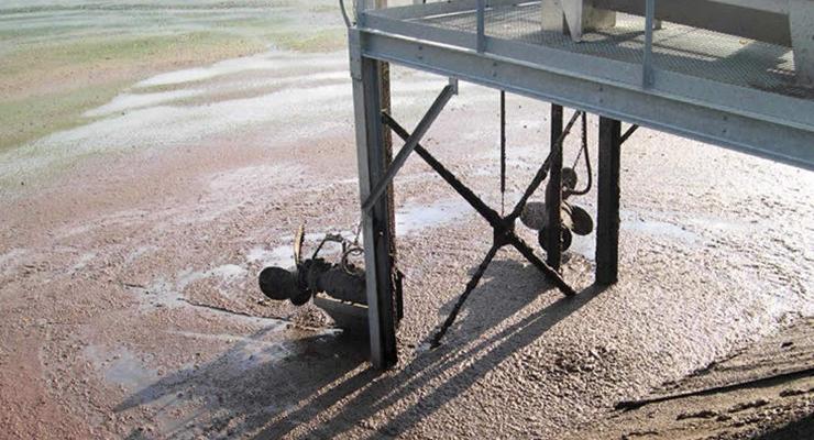 AI Traitement des eaux - Agitation